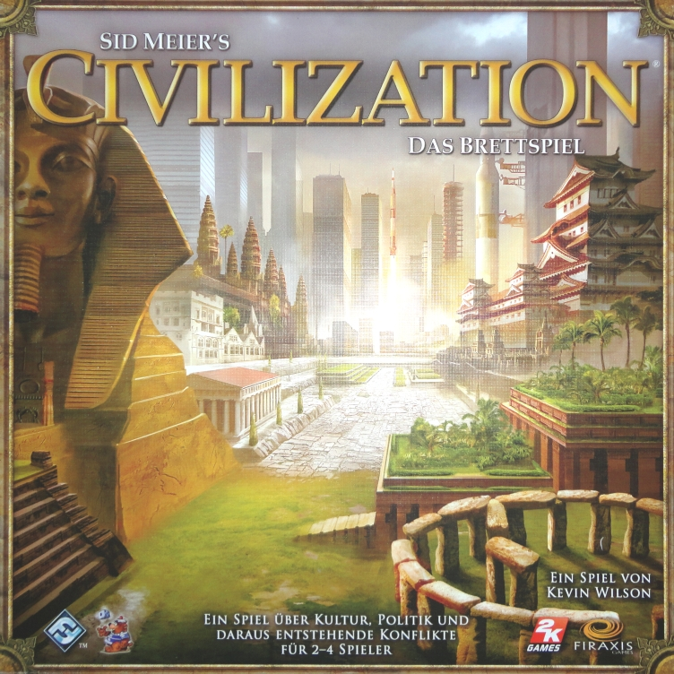 Civilization: Das Brettspiel Cover 2010 Wilson
