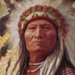 Sitting Bull von den Sioux